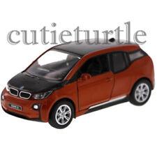 Kinsmart Bmw i3 1:32 Diecast Toy Car Orange / Black KT5380D
