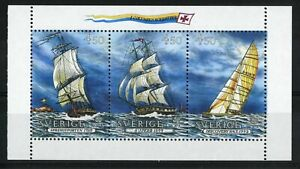 Sweden 1992 Europa Discovery of America by Columbus set of 3 MNH