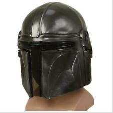 Movie Star Wars The Mandalorian Mask Cosplay Helmets Latex Masks Props Halloween