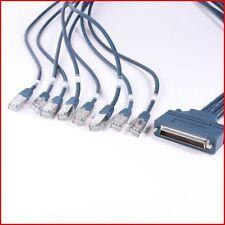 NEW 8 RJ45 Cisco CAB-OCTAL-ASYNC 1M CABLE for CISCO 2509 2511 2600 NM-16A NM-32A