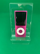 Apple iPod Nano 4th Generation Pink (8GB) - Good Condition - Fast Dispatch