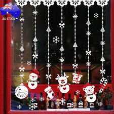 Christmas Snow Ball Removable Home Vinyl Glass Window Wall Stickers Decal Decor