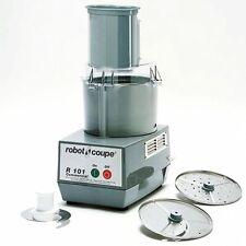 Robot Coupe R101 Vegetable Slicer & Cutter Food Processor 2.5Qt Bowl 2 Disc