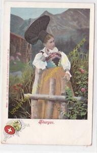 CPA SUISSE Costumes Suisses THURGAU Edit GUGGENHEIM 10056