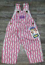 NEW Vintage Baby OshKosh B'Gosh Paisley Overalls 3/6...