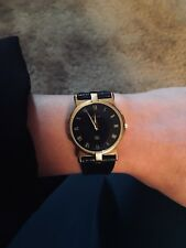 UNISEX Gold GUCCI Watch, Roman Numerals, 3400 M