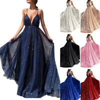 Womens Formal Bridesmaid Evening Party Ball Prom Gown Wedding Cocktail-Dress