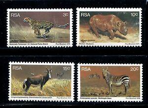 South Africa 465-468, MNH, Animals 1978. x22741