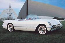 1 1953 Vette Corvette Chevy 24 Sport Car 18 Vintage Exotic 43 Carousel White 12