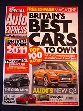 Auto Express 1161 - Audi Q3 - Evoque - Ford Focus 80MPG