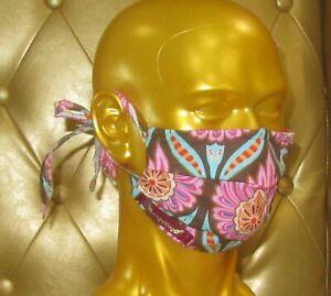 angeldog_Exclusiv Alltagsmaske Stoffmaske_Jugendstil Motiv_Zeigen Sie Stil_Gr: L