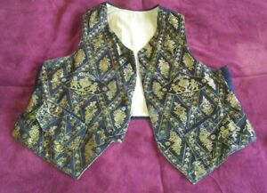 Antique Vest.  Likely Regency(?) or Victorian(?) Representation.