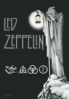 LED ZEPPELIN FLAGGE FAHNE STAIRWAY TO HEAVEN POSTERFLAGGE POSTER FLAG STOFF