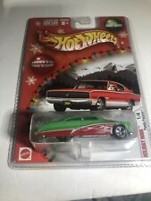 2004 Hot Wheels Holiday Rods Purple Passion #1/4 Red/Green