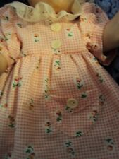 """Cute Baby Doll (Dress Only) (No Doll) for 16"""" Tiny Tears Doll, or Betsy Wetsy"""