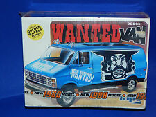 "MPC 1980 Dodge Van ""Wanted"" Model Kit 1/25 scale"