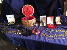 Huge Job Lot Of Vintage/Modern Costume Jewellery BOX INCLUDED IN SALE!