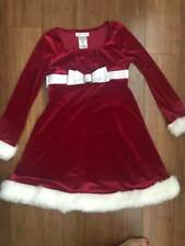 Bonnie Jean Christmas dress size 8 girls red