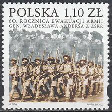 Poland 2002 - Wladyslaw Anders army - Fi 3814 MNH**