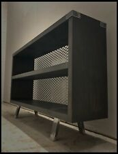 Bespoke Industrial Bookcase/furniture/home/tv Stand/reclaimed/rustic/wood/steel