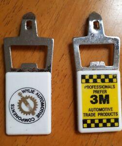 Vintage Automotive Advertising Bottle Opener Can Piercer X 2