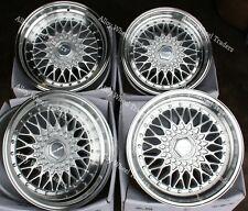 "16"" SIL DL RS ALLOY WHEELS FITS 4x100 BMW FIAT HONDA HYUNDAI KIA MODELS"