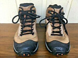Merrell 13699 pulse mid gore tex smoke men's hiking boots size US 11. Brown