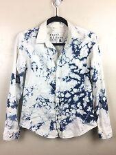 Frank & Eileen Tie Dye Burton Front Shirt - Cloud Stonewash - Women's Small