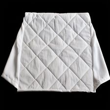 Comfortnights Acolchado de poli algodón Cubierta Para Cama Cuña Almohada