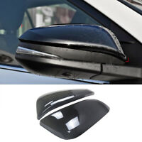 Pair Mirror Covers for Toyota 4Runner 2014-2020 ABS Gloss Black Side Door Trim