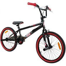 deTOX BMX 20 Zoll Freestyle Anf?nger Fahrr?der - Schwarz/Rot