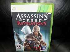 Assassin's Creed: Revelations (Microsoft Xbox 360, 2011) EUC FREE USA SHIPPING