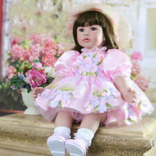 Reborn Baby Toddler Girl Doll Realistic Lifelike Dolls Babies Bebe Toys Gifts