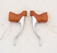 LEATHER HOODS for vintage Suntor Superbe Pro road brake levers