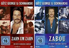 2 DVDs * GÖTZ GEORGE - SCHIMANSKI - SET ( ZAHN UM ZAHN + ZABOU ) # NEU OVP %