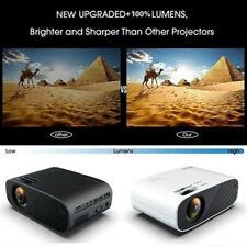 4K 1080P HD Projektor Videoprojektor Beamer Heimkino WiFi Bluetooth 3D LED Mini