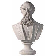 Charles Dickens English Novelist Sculptural Bust