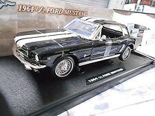 FORD Mustang MKI Pony Car 1/2 1964 schwarz black Hardtop S-Preis Motormax 1:18