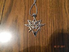 "MIP- ICP ""Bang Pow Boom"" Stainless Steel pendant w/30 inch ball chain"