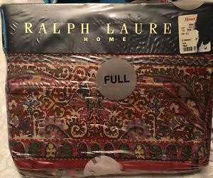 Vtg New in Package Ralph Lauren Galahad Full Flat Sheet Irregular