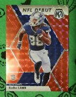 2020 Panini Mosaic NFL Debut Red Prizm CeeDee LAMB #268 Dallas Cowboys RC