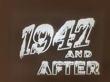 BRITISH MOVIETONE NEWS 1947 AND AFTER SUPER 8 B/W SOUND 200FT CINE 8MM FILM
