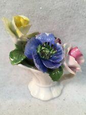 RADNOR Bone China England Pitcher w/Flowers