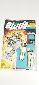 GI Joe Snow Job 1983 Vintage Action Figure Hasbro 100% complete.