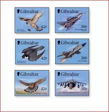 GIB9904 Desert eagles and military aircraft, 6 pieces
