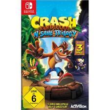 Crash Bandicoot N.Sane Trilogy = 3 Originalspiele Nintendo Switch NEU&OVP