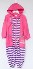 Disney Doc McStuffins all in one outdoor pink/purple playsuit Age 2-3 years