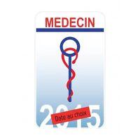 Caducée Medecin sticker autocollant