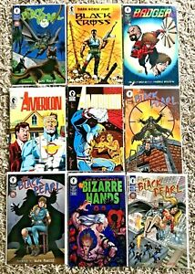 Lot of 9 Comics ALL DARK HORSE Black Cross #1 Black Pearl The American Badger