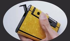 Automatic Cigarette Case Dispenser with Built in Torch Lighter